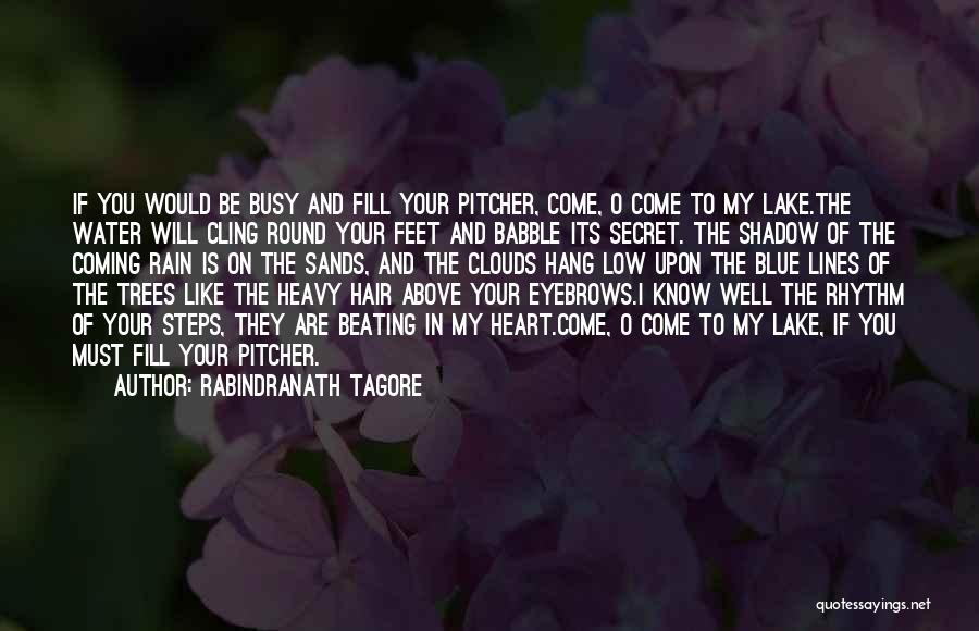 My Heart Is Heavy Quotes By Rabindranath Tagore