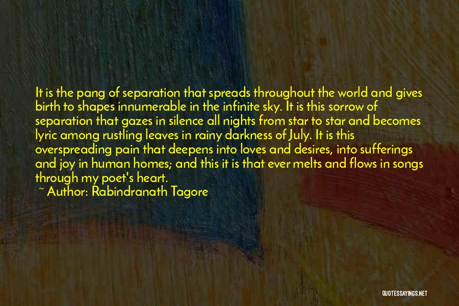 My Heart Melts Quotes By Rabindranath Tagore
