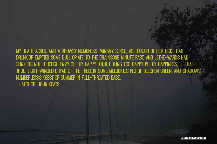 My Heart Pains Quotes By John Keats