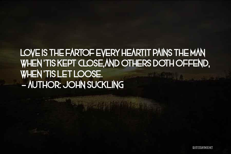 My Heart Pains Quotes By John Suckling