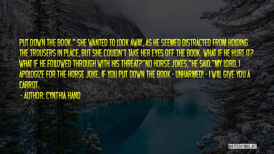 My Horse Quotes By Cynthia Hand