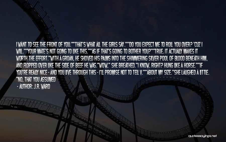 My Horse Quotes By J.R. Ward