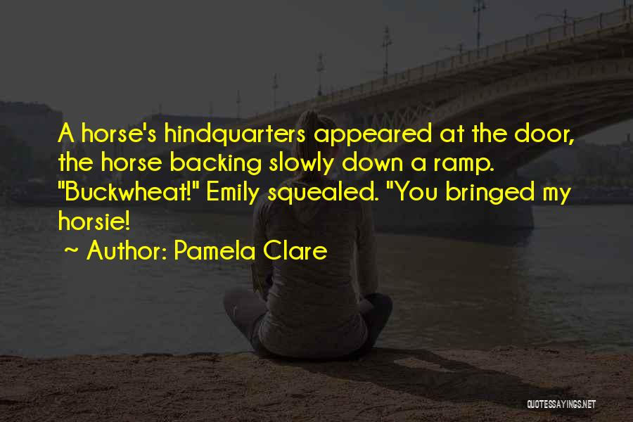 My Horse Quotes By Pamela Clare