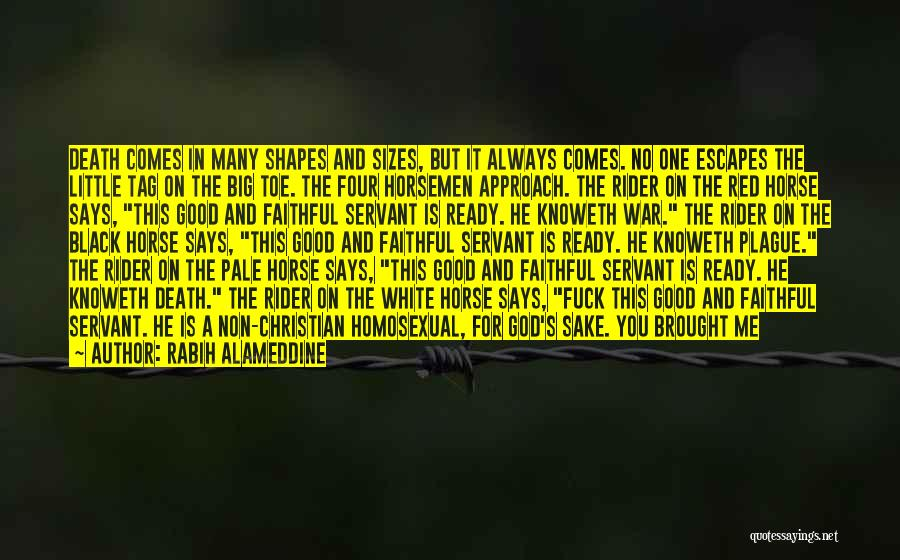 My Horse Quotes By Rabih Alameddine