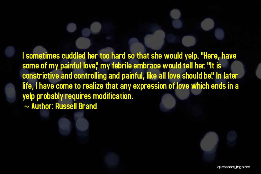 My Life Ends Quotes By Russell Brand