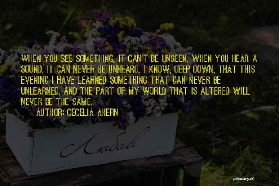 My Life Is You Quotes By Cecelia Ahern