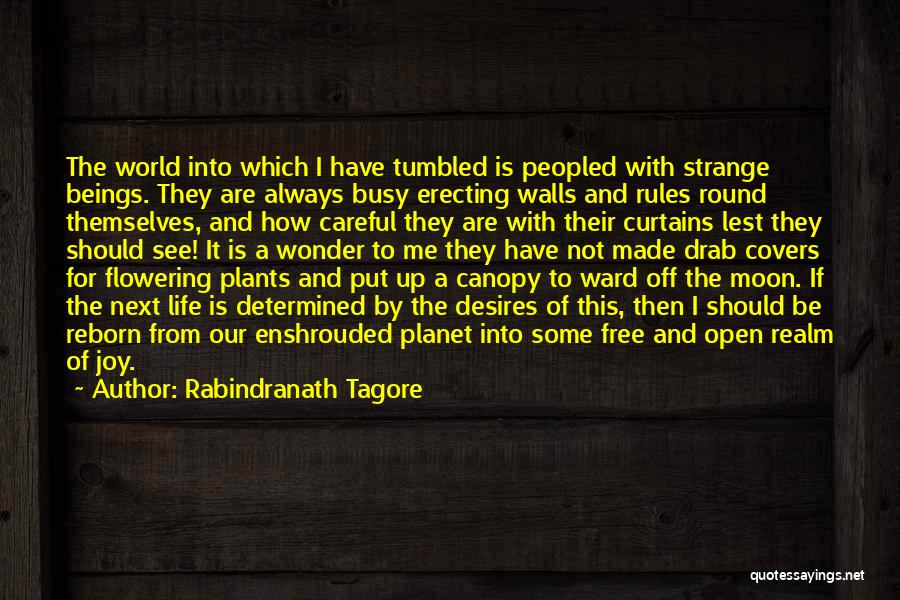 My Life No Rules Quotes By Rabindranath Tagore