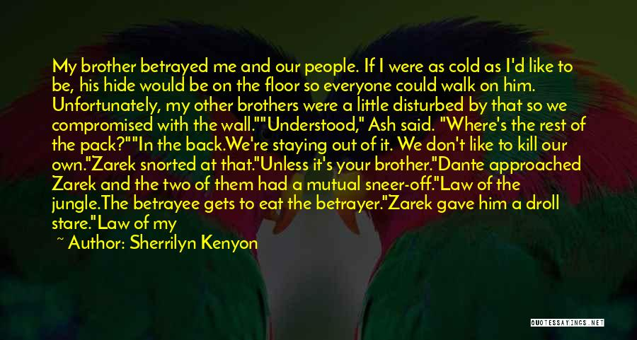 My Little Brothers Quotes By Sherrilyn Kenyon