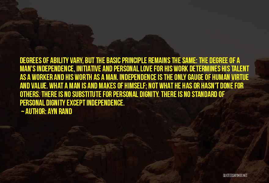 My Love Still Remains Quotes By Ayn Rand