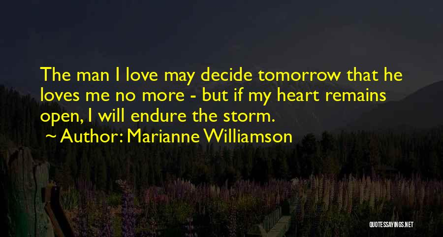 My Love Still Remains Quotes By Marianne Williamson