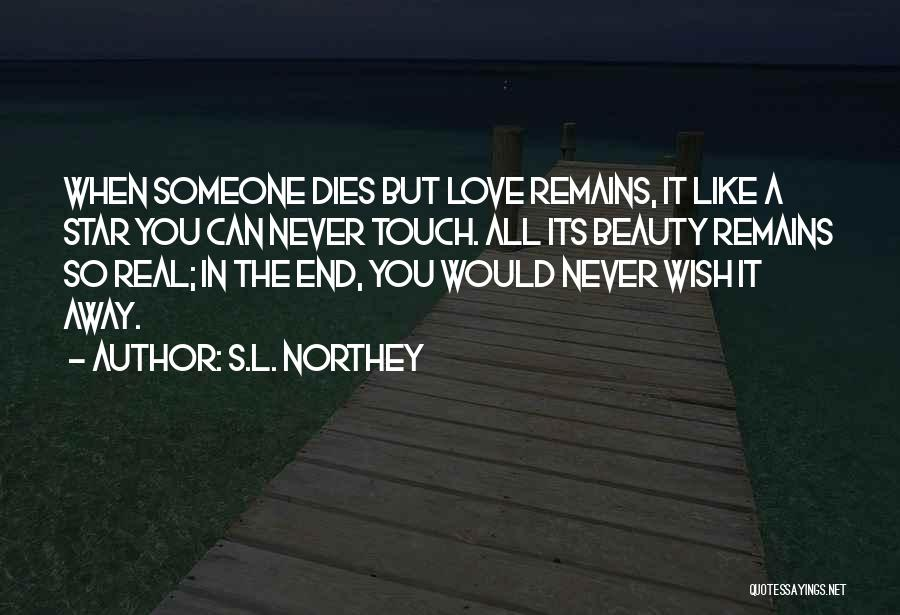 My Love Still Remains Quotes By S.L. Northey