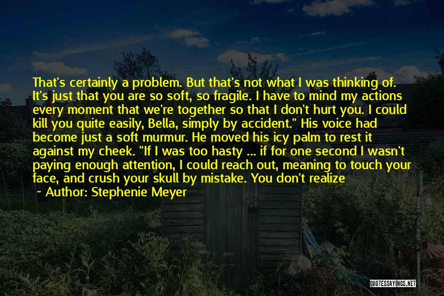 My Love Wasn't Enough Quotes By Stephenie Meyer
