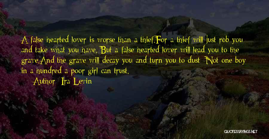 My Lover Boy Quotes By Ira Levin