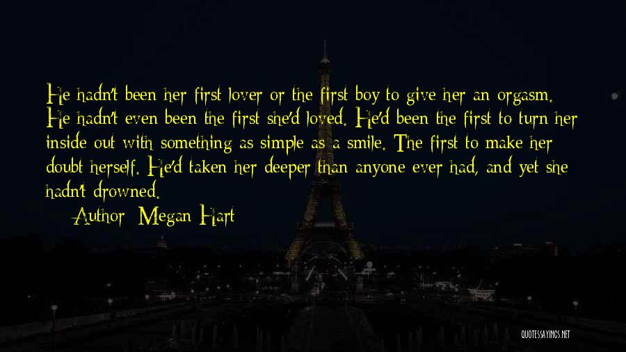 My Lover Boy Quotes By Megan Hart