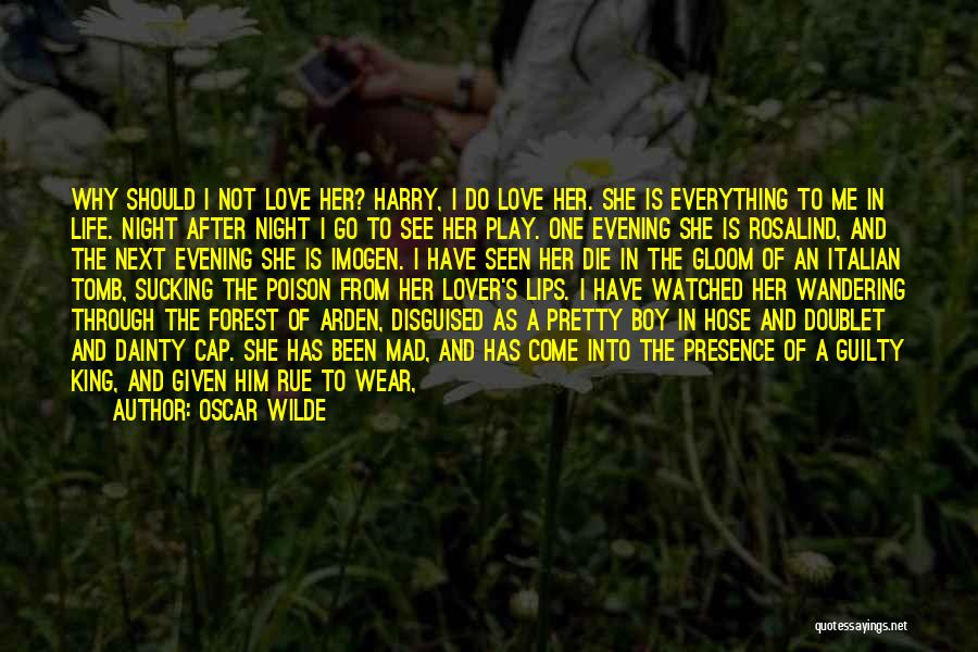 My Lover Boy Quotes By Oscar Wilde