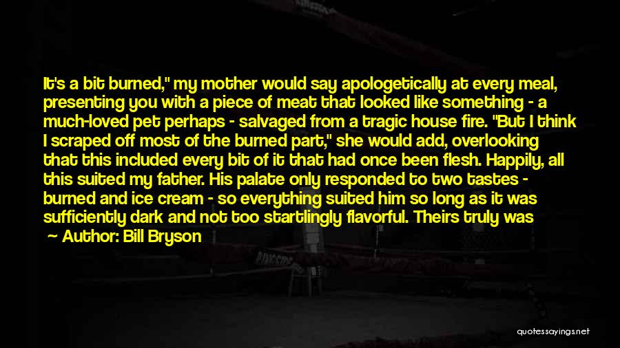 My Mother In Heaven Quotes By Bill Bryson