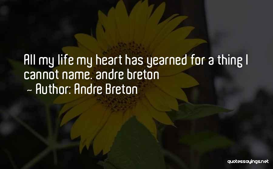 My Name Quotes By Andre Breton