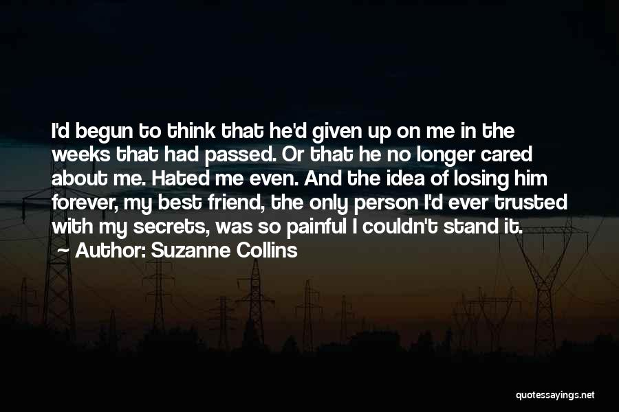 My Only Best Friend Quotes By Suzanne Collins