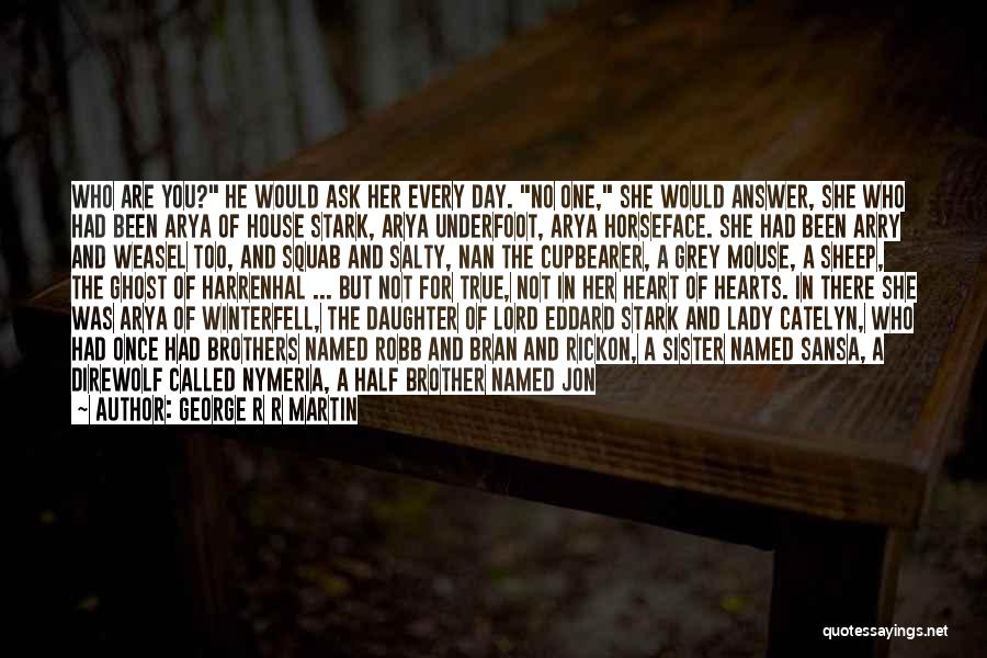 My Other Half Sister Quotes By George R R Martin