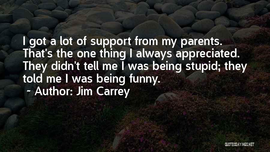 My Parents Funny Quotes By Jim Carrey