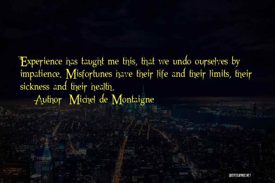 My Patience Has Limits Quotes By Michel De Montaigne