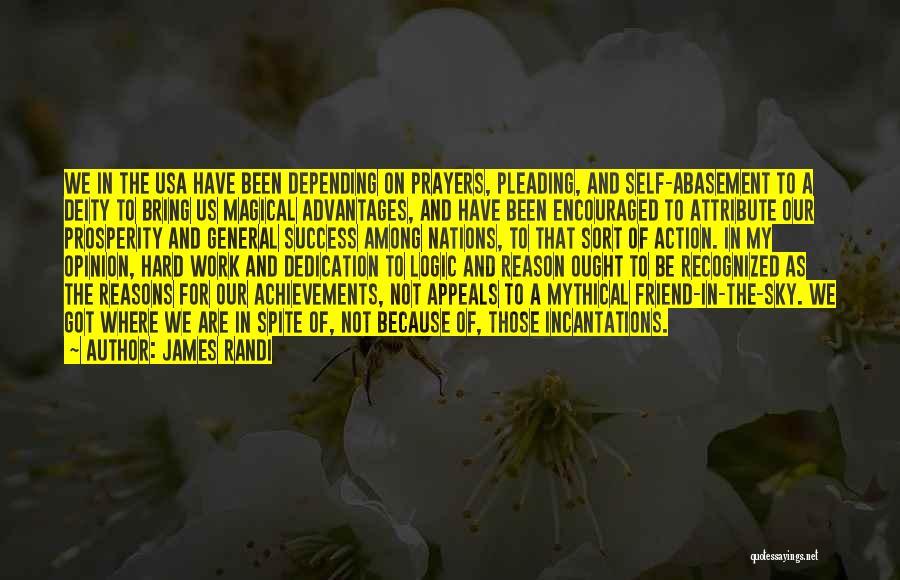 My Reasons Quotes By James Randi
