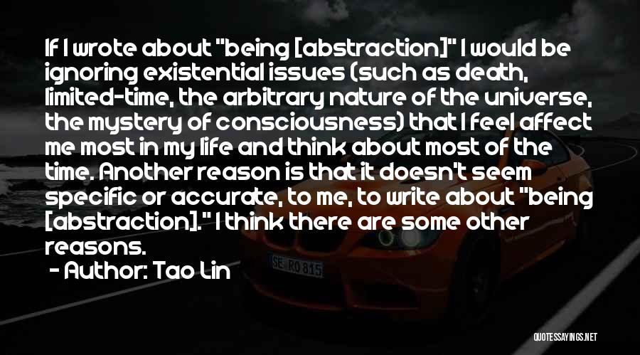 My Reasons Quotes By Tao Lin