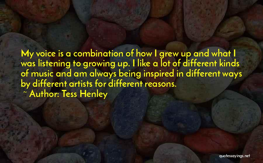 My Reasons Quotes By Tess Henley
