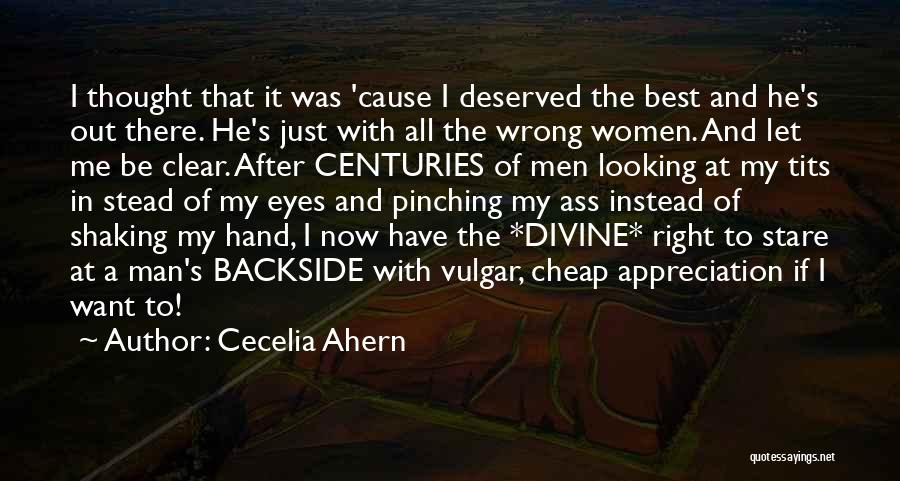 My Right Hand Man Quotes By Cecelia Ahern