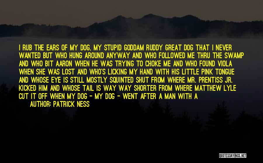 My Right Hand Man Quotes By Patrick Ness