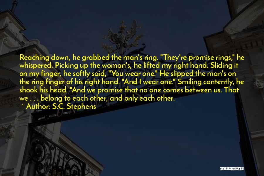 My Right Hand Man Quotes By S.C. Stephens