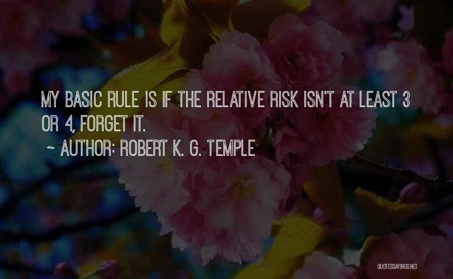 My Rule Quotes By Robert K. G. Temple