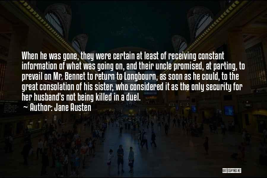 My Sister And Her Husband Quotes By Jane Austen