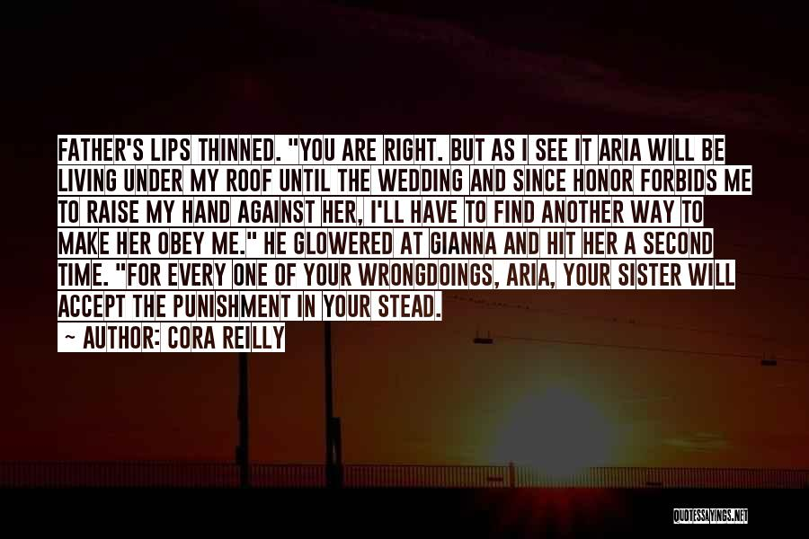 My Sister's Wedding Quotes By Cora Reilly