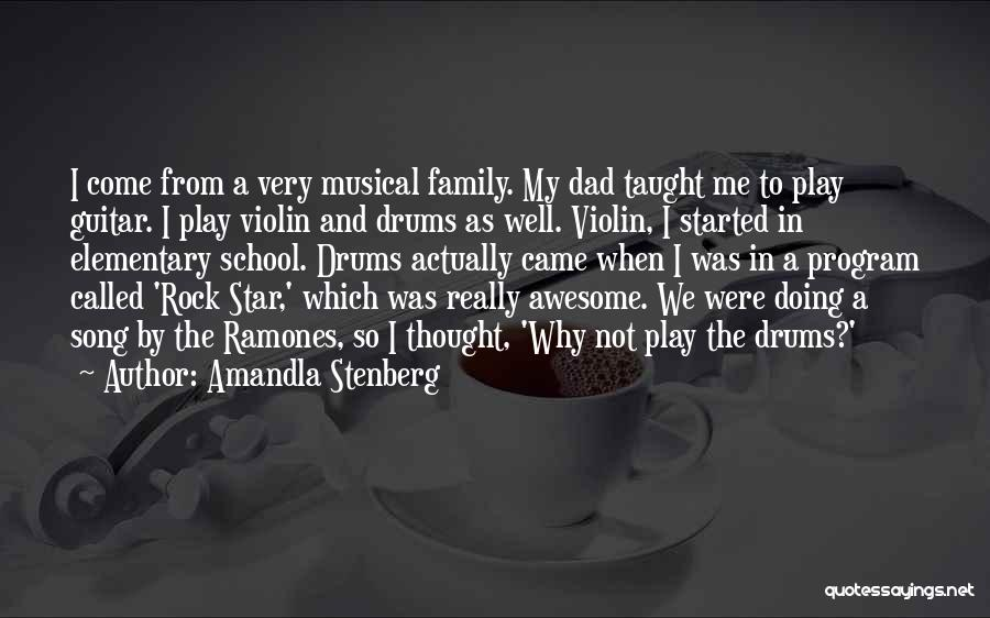 My So Called Family Quotes By Amandla Stenberg