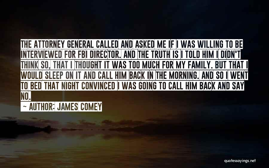 My So Called Family Quotes By James Comey