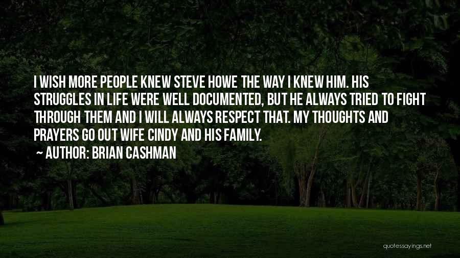 My Struggles Quotes By Brian Cashman
