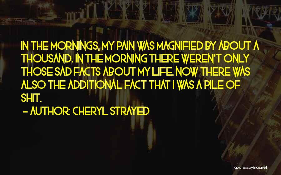 My Struggles Quotes By Cheryl Strayed