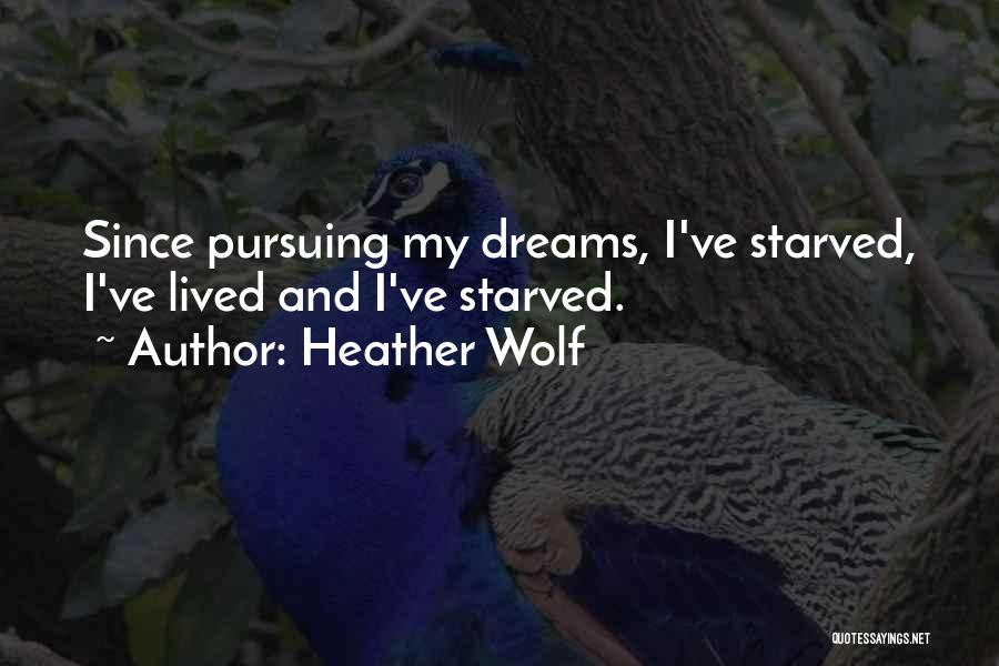 My Struggles Quotes By Heather Wolf