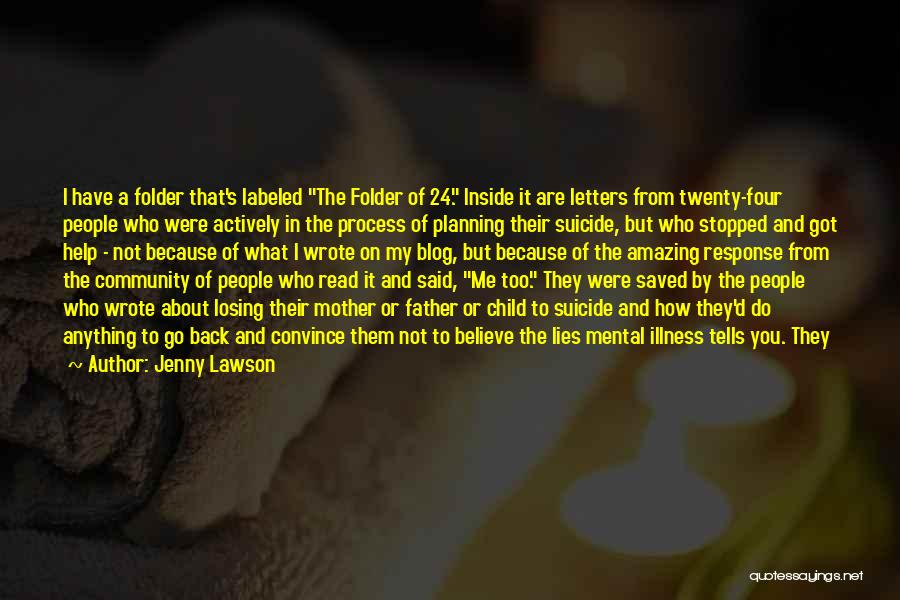 My Struggles Quotes By Jenny Lawson
