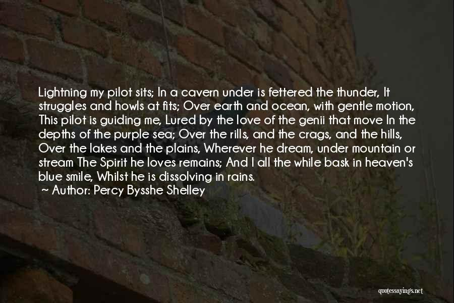My Struggles Quotes By Percy Bysshe Shelley