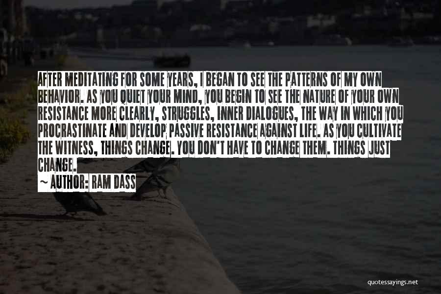 My Struggles Quotes By Ram Dass