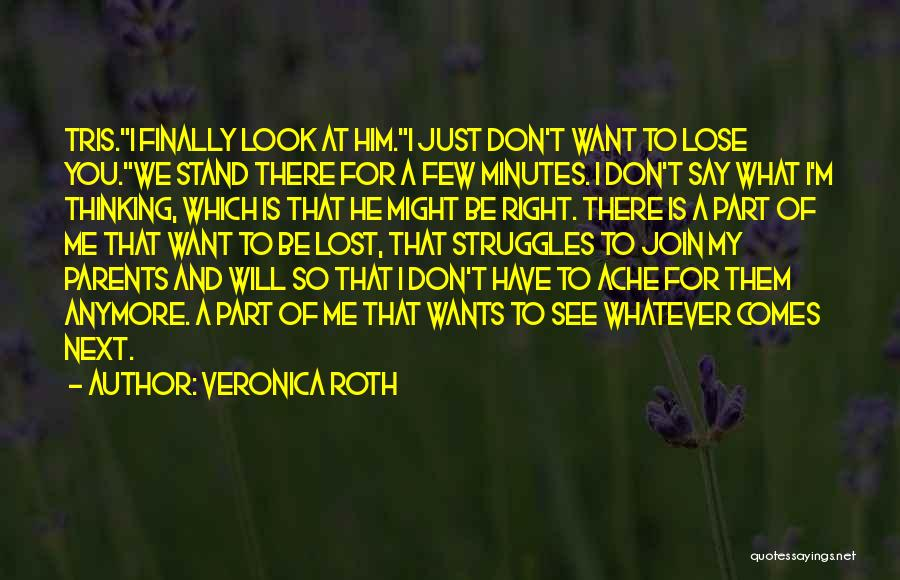 My Struggles Quotes By Veronica Roth
