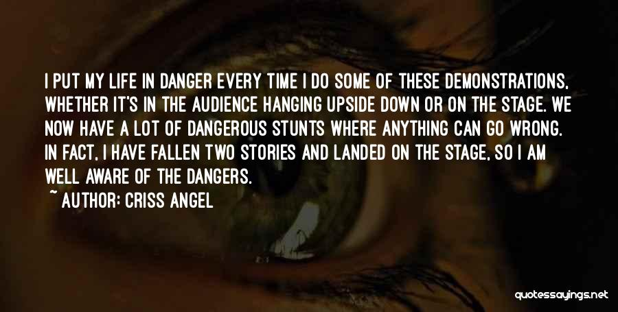 My Stunts Quotes By Criss Angel