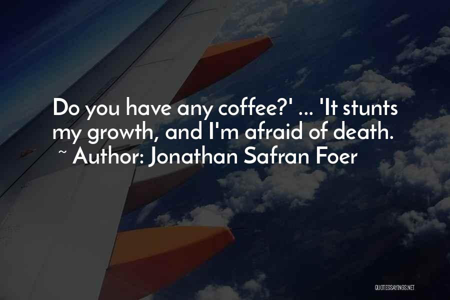 My Stunts Quotes By Jonathan Safran Foer