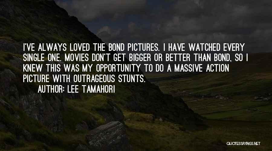 My Stunts Quotes By Lee Tamahori