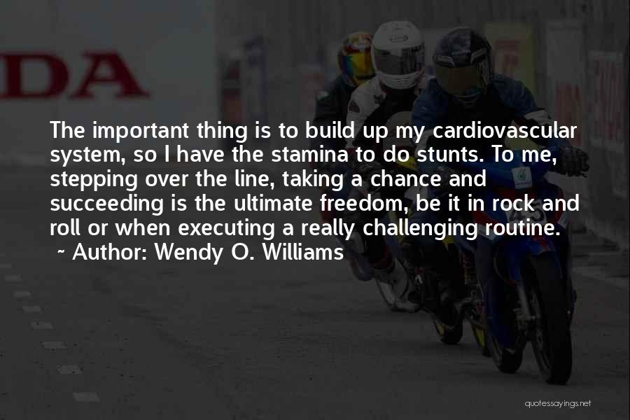My Stunts Quotes By Wendy O. Williams