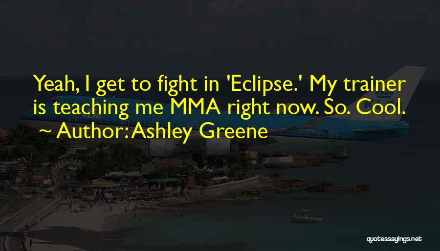 My Trainer Quotes By Ashley Greene