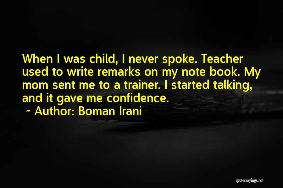 My Trainer Quotes By Boman Irani