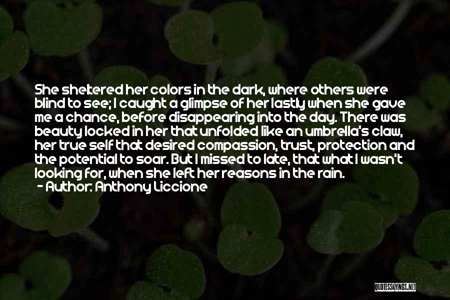 My True Colors Quotes By Anthony Liccione